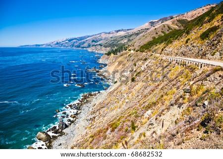 Big Sur. Central California - stock photo