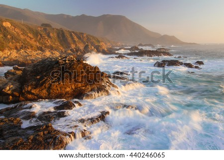 Big Sur coast, central California, USA
