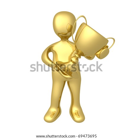 Big Trophy - stock photo