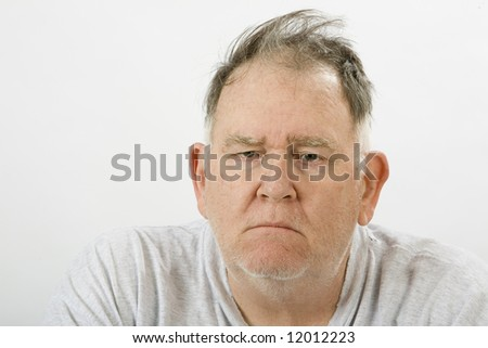 Big waking up in the morning - stock photo