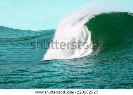 Big wave - stock photo