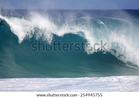 Big wave - North Shore, Oahu, Hawaii