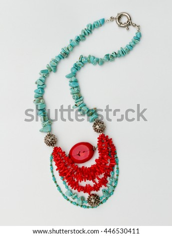 biju Necklace handmade