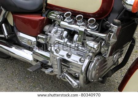 Bike Engine - stock photo