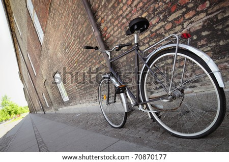 bike in the city