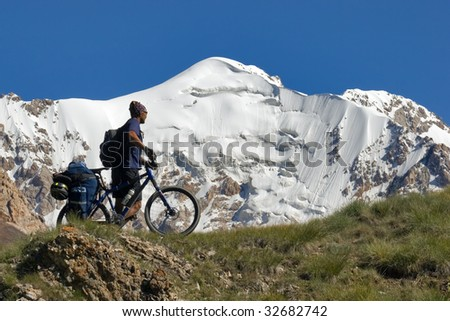 Bike Journey - stock photo