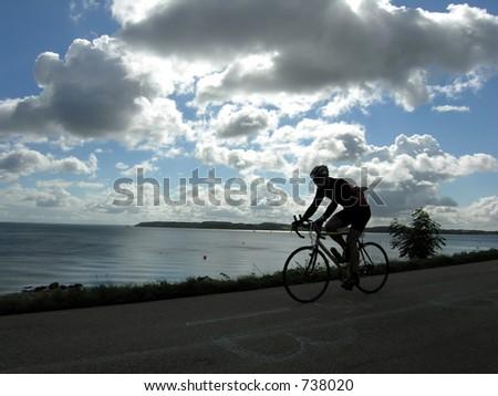 Bike Race - stock photo
