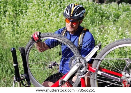 Bike Repair Stock Images Royalty Free Images Vectors Shutterstock