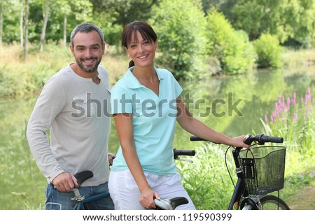 Bike Ride - stock photo