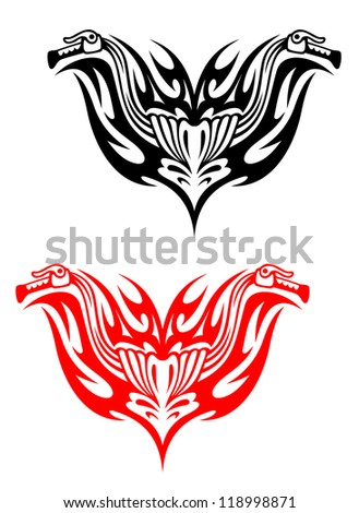 tribal motorcycle stock images royalty free images vectors shutterstock. Black Bedroom Furniture Sets. Home Design Ideas