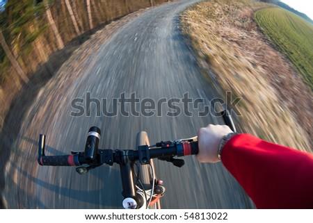 biking - stock photo