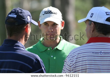 Bill Haas at AT and T national Pro-am 2006, Pebble beach Golf links, Monterey, california