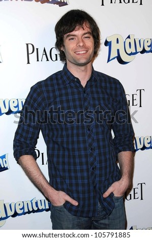 Bill Hader  at the Los Angeles Premiere of 'Adventureland'. Mann Chinese 6 Theater, Hollywood, CA. 03-16-09 - stock photo