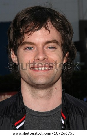 Bill Hader Maria Menounos  at the Los Angeles Premiere of 'Tropic Thunder'. Mann's Village Theater, Westwood, CA. 08-11-08 - stock photo
