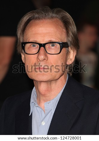 Bill Nighy arriving for the Total Recall Premiere, at Vue West End, Leicester Square, London. 16/08/2012 Picture by: Alexandra Glen