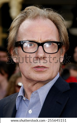 "Bill Nighy attends the World Premiere of ""Pirates of the Caribbean: At World's End"" held at Disneyland in Anaheim, California on May 19, 2007.  - stock photo"
