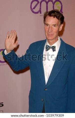 Bill Nye at the 2009 Environmental Media Association Awards. Paramount Studios, Los Angeles, CA. 10-25-09 - stock photo