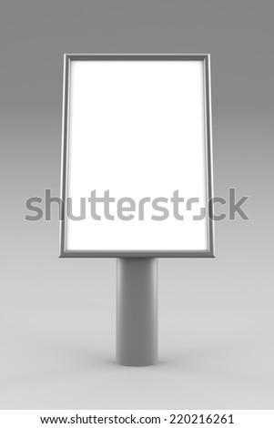 Billboard mockuup - stock photo