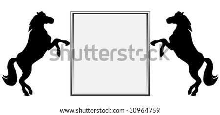 billboard with free space for ad, text, picture etc - stock photo
