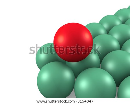 Billiard balls. isolated
