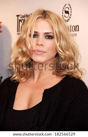 Billie Piper at Showtime Hosts World Premiere Screening of THE TUDORS Season 2, Sheraton New York Hotel & Towers, New York, NY, March 19, 2008 - stock photo