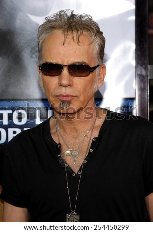"Billy Bob Thornton at the Los Angeles Premiere of ""Eagle Eye"" held at the Grauman's Chinese Theater in Hollywood, California, United States on September 16, 2008.  - stock photo"