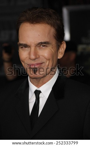 "Billy Bob Thornton at the Los Angeles Premiere of ""Faster"" held at the Grauman's Chinese Theater in Hollywood, California, United States on November 22, 2010."