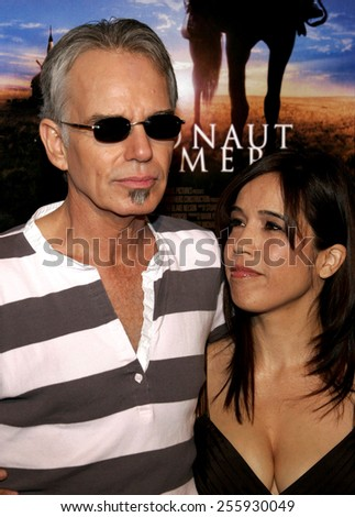 "Billy Bob Thornton attends the Los Angeles Premiere of ""The Astronaut Farmer"" held at the Cinerama Dome in Hollywood, California, United States on February 20, 2007.  - stock photo"