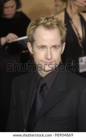 BILLY BOYD & date at the 10th Annual Screen Actors Guild Awards in Los Angeles. February 22, 2004