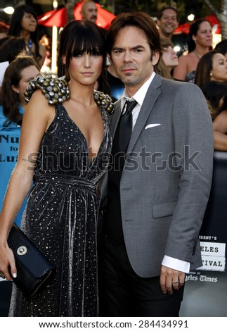 Billy Burke at the Los Angeles premiere of 'The Twilight Saga: Eclipse' held at the Nokia Theatre L.A. Live in Los Angeles on June 24, 2010.  - stock photo