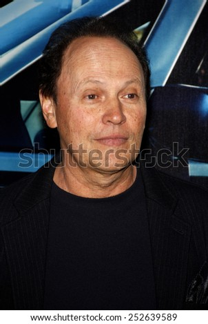 "Billy Crystal at the Los Angeles Premiere of ""His Way"" held at the Paramount Pictures Studios in Los Angeles in Los Angeles, California, United States on March 22, 2011.  - stock photo"