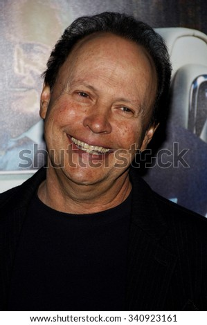 "Billy Crystal at the Los Angeles Premiere of ""His Way"" held at the Paramount Pictures Studios in Los Angeles, California, United States on March 22, 2011. - stock photo"