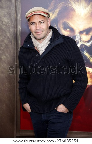 Billy Zane at the Los Angeles premiere of 'Mad Max: Fury Road' held at the TCL Chinese Theatre IMAX in Hollywood, USA on May 7, 2015.  - stock photo