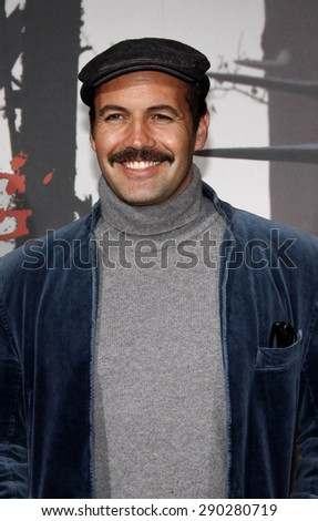 "Billy Zane at the Los Angeles premiere of ""Red Riding Hood"" held at the Grauman's Chinese Theater in Hollywood on March 7, 2011. - stock photo"