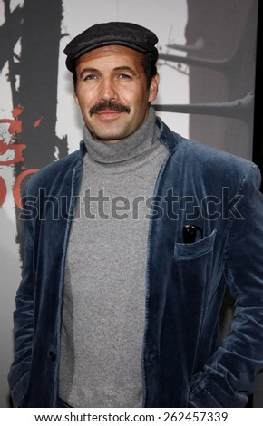 Billy Zane at the Los Angeles premiere of 'Red Riding Hood' held at the Grauman's Chinese Theatre in Hollywood, USA. March 7, 2011. - stock photo
