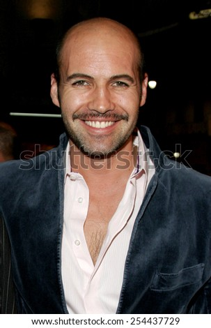 "Billy Zane attends the Los Angeles Premiere of ""Bloodrayne"" held at The Mann's Chinese Theater in Hollywood, California, United States on January 4, 2006.  - stock photo"