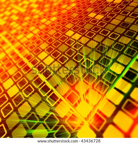 Binary code pattern - stock photo