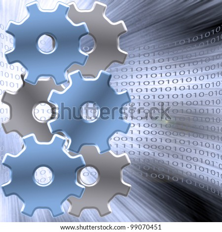 Binary Gears