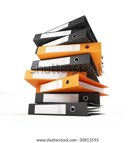 binder - stock photo