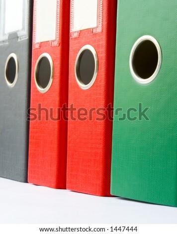 Binders - stock photo
