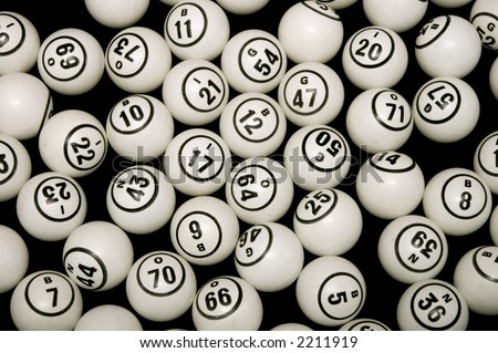 Bingo Balls - stock photo