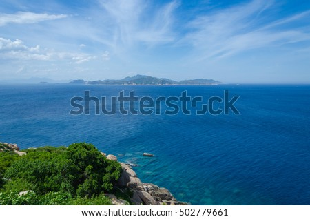 Binh Ba island, Cam Ranh, Khanh Hoa, Vietnam