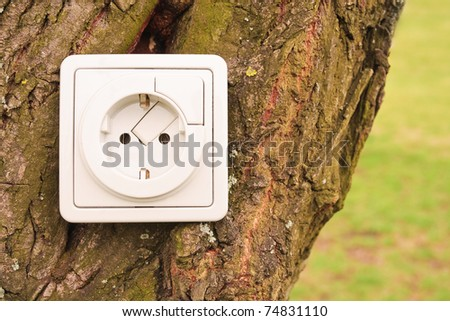 Bio-energy - stock photo