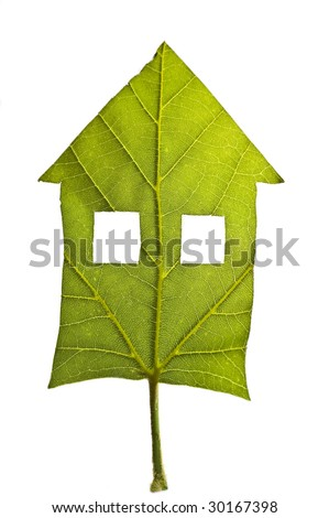 bio home - stock photo