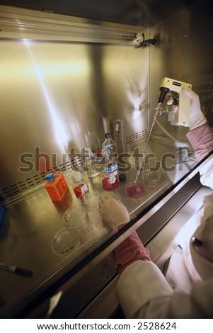 bio lab - stock photo