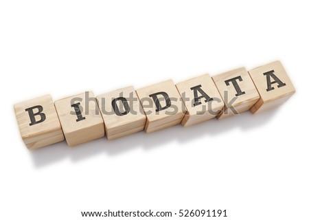 biodata word