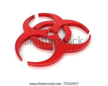 Biohazard concept - stock photo