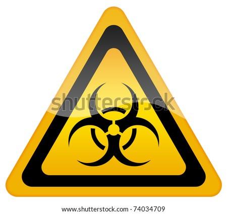Biohazard sign - stock photo