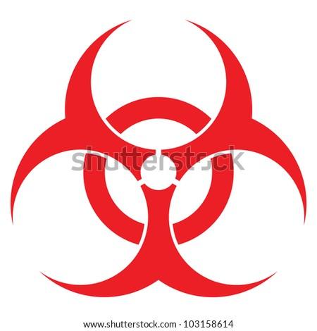biohazard sign vector format health industry stock illustration