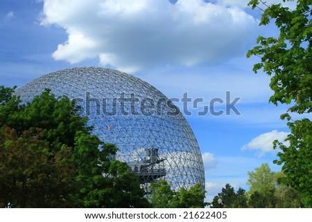 Biosphere - stock photo